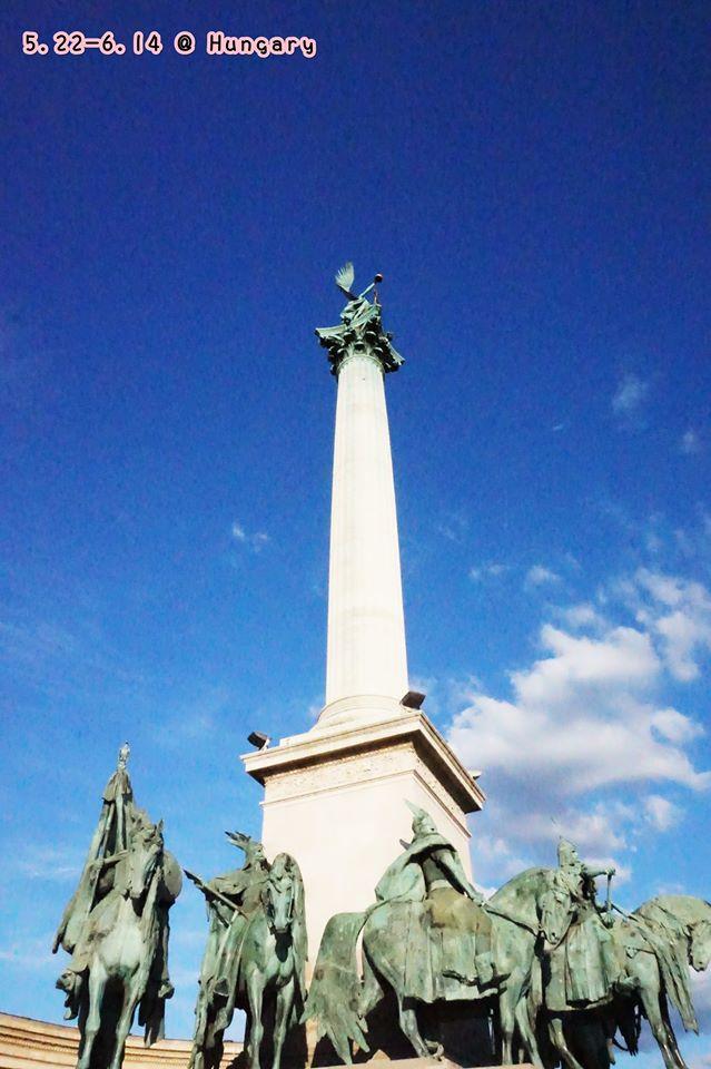 來匈牙利「英雄廣場」感受不朽千年氣勢及依沃達奇城堡🏰