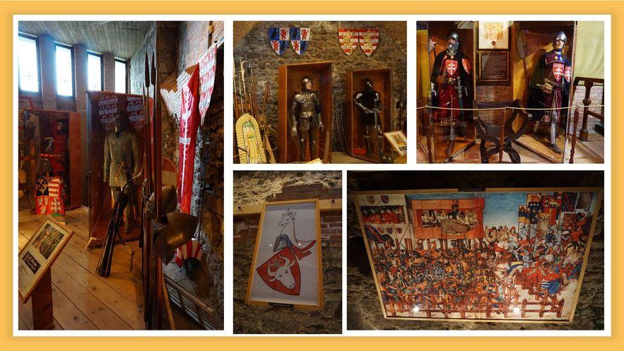 維謝格拉德雲堡中世紀武器