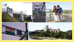 Esztergom小鎮瑪麗瓦萊里橋